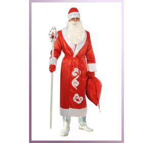 "Костюм ""Дед Мороз (атлас напыление)"""