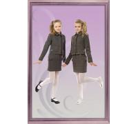 Костюм для девочки 733 - тройка